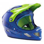 Bluegrass Explicit blauw-groen full face valhelm