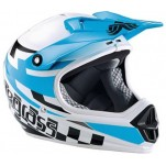 Bluegrass Intox blauw full face valhelm