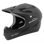 Polisport Black Thunder full face valhelm