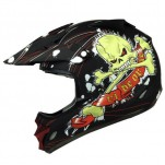 THH TX22 Ride or Die (Skull) full face valhelm