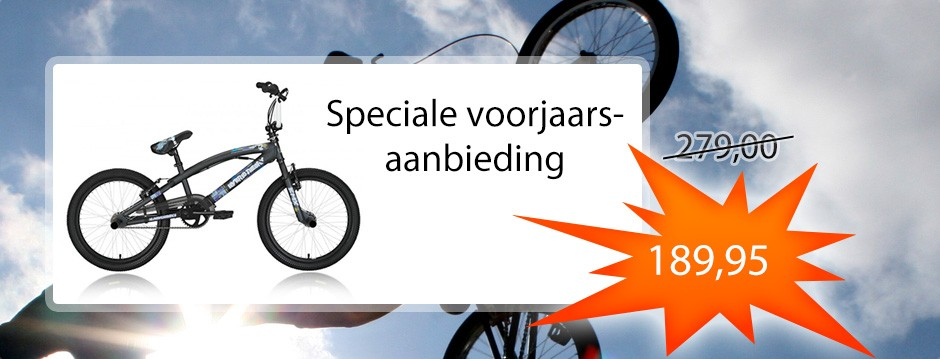 Spectaculaire aanbieding